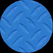 Superficie antidesliantes azul adriatico