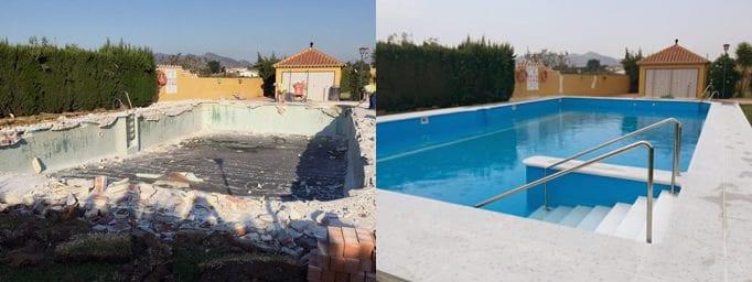 La solución más eficiente para reparar o renovar tu piscina
