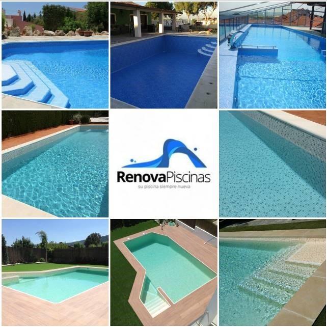 piscina como nueva