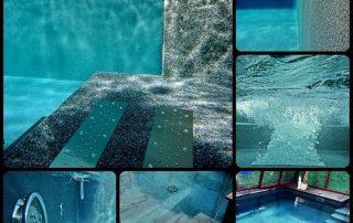 Hoteles, resorts, piscinas públicas fugas agua