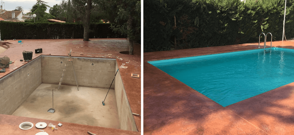 Renueva tu piscina en tiempo récord